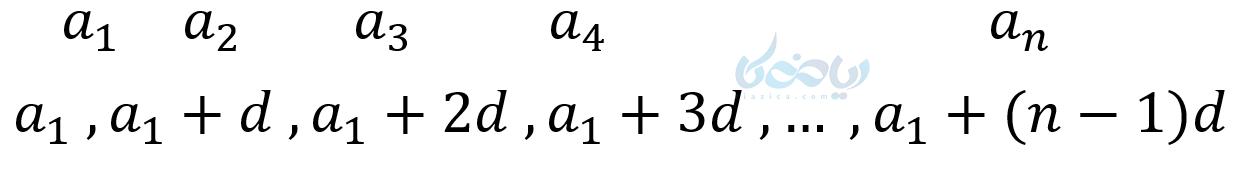جمله عمومی دنباله حسابی
