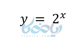 فرم عدد صحیح و کسری در آموزش تابع نمایی