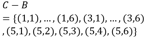 پیشامد آنکه عدد اول فرد بیابید ولی مجموع آنها ده نشود.