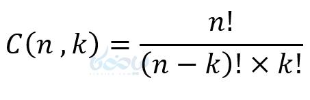 ترکیب در نمونه سوال ریاضی دهم با جواب