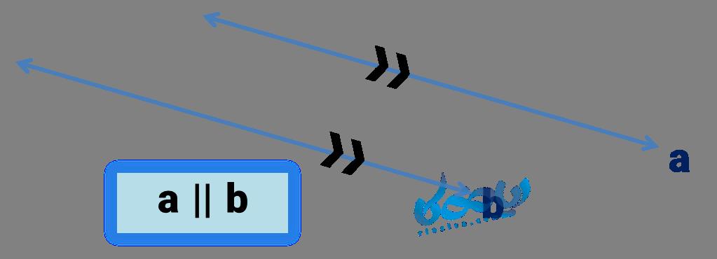 تعریف دو خط موازی