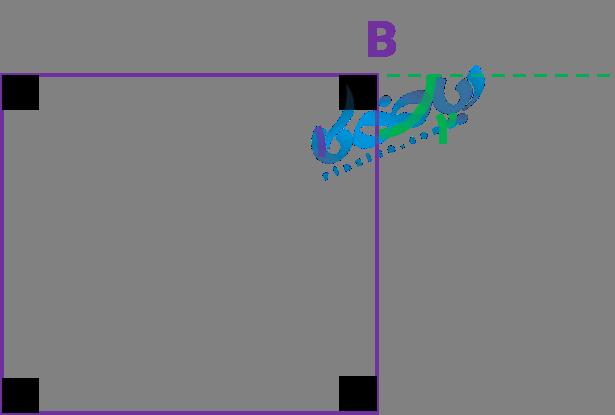 زاویه خارجی در مربع
