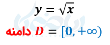دامنه معادلات رادیکالی