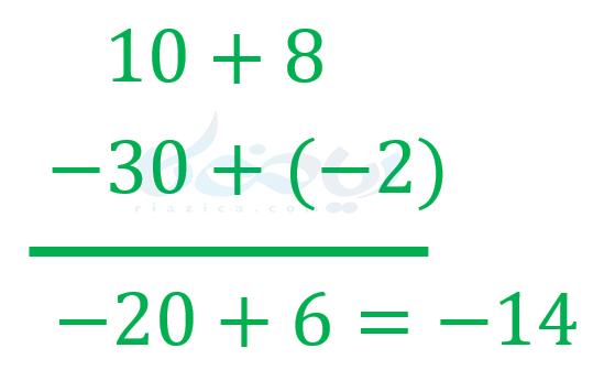 جمع و تفریق اعداد چند رقمی