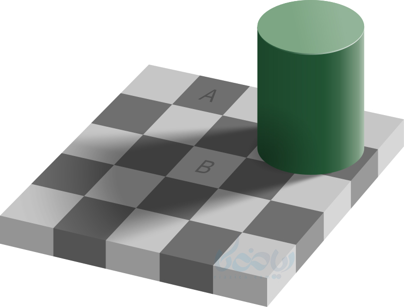 خطای دید Checker shadow