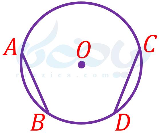 حل مسئله در هندسه نهم - برابری وترها