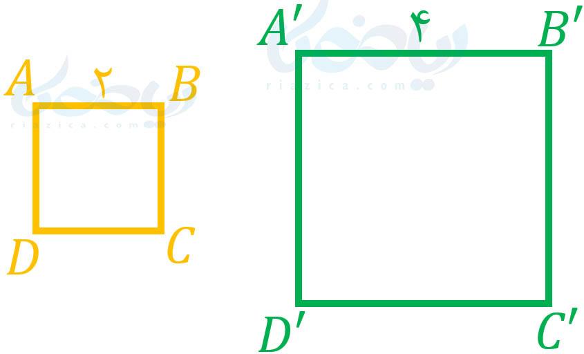 مربعهای متشابه