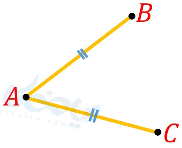 برابری دو پاره خط