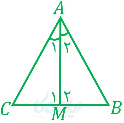 همنهشتی مثلث ها نهم - مثال از برابری سه ضلع