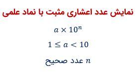 نماد علمی ریاضی نهم