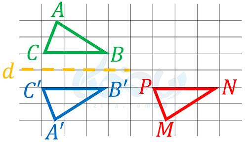 انطباق دو مثلث همنهشت- شکل های هم نهشت ریاضی هفتم
