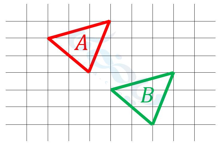 مثال از تقارن- تبدیلات هندسی ریاضی هفتم