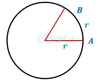 تعریف رادیان در واحد های اندازه گیری زاویه