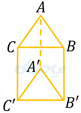 مثال از حجم های منشوری- حجم های هندسی ریاضی هفتم