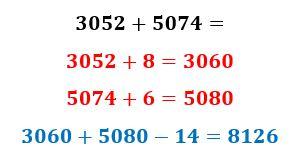 جمع سریع اعداد