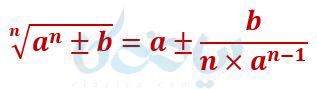 محاسبه سریع جذر اعداد